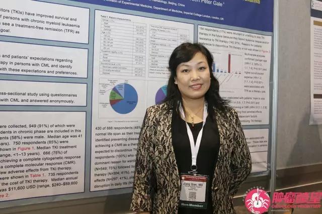 【ASH我在现场】江倩教授:我国慢性髓系白血病治疗目标及现状调查
