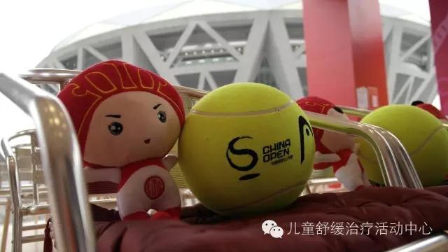 我见到了世界网球明星大哥哥