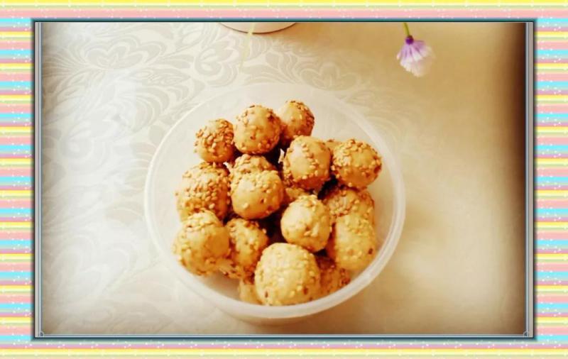 肿瘤孩子们的超级小吃--坚果蛋白球