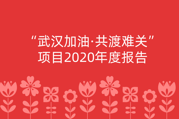 """""""武汉加油·共渡难关""""项目2020年度报告"""
