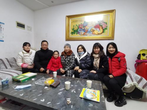 守护、温暖社区卫士的家人