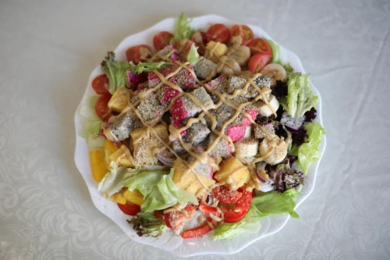 香柏树营养美食视频课堂第十七期--自制沙拉酱