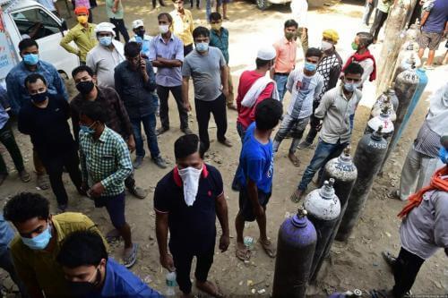 5台制氧机已经运抵印度,10万只口罩已经运抵尼泊尔