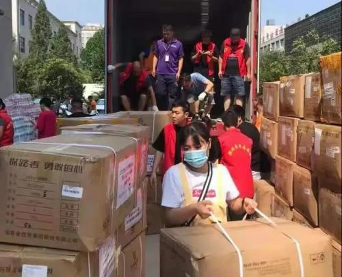 救援进行时丨排水泵、牛奶、睡袋抵达灾区,资助兴隆县蓝天救援队开展